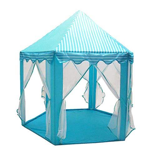 Fengyuanhong Six Angle Castle Gaze Tente Maisonnettes Fille Enfants Grand Intérieur Extérieur Hexagonal Toy House Jeu
