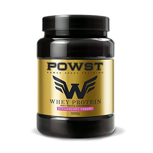 POWST Premium Quality Whey Protein Yogurt with Strawberries 1000g.