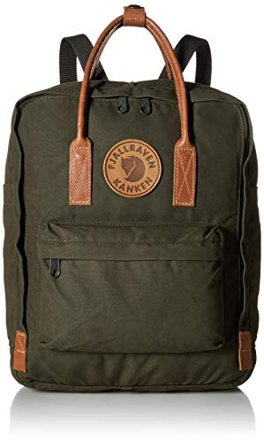 FJÄLLRÄVEN Unisex-Adult Kånken No. 2 Carry-On Luggage, Deep Forest, 38 cm