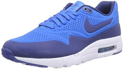 Nike Air Max 1 Ultra Moire, Herren Sneakerss, Blau (Photo Blue/Insignia Blue-White), 42.5 EU
