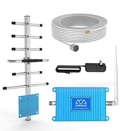 Cell Phone Booster Home 850MHz Band 5 2G GSM 3G CDMA 4G LTE Cell Phone Signal Booster FDD Mobile Phone Signal Amplifier ATT Repeater Cell Signal Booster Use Home/Office/Warehouse/Basement/Garage