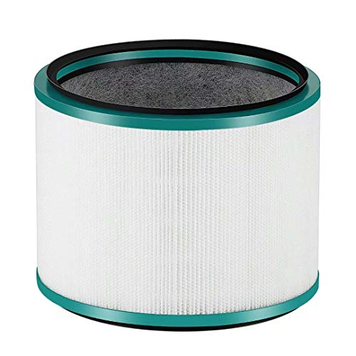 FBSHOP(TM) Filtro de Repuesto para purificador de Escritorio Compatible con Dyson HP02 Pure Hot + Cool Link, para Dyson DP01 Pure Cool Link Escritorio, HP00/HP01/HP02/HP03/dp02, sustituye a 968125-03