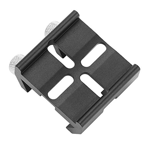 EBTOOLS Finderscope Finder Dovetail Base, telescopio Finderscope Mount Dovetail Slot Plate Ranura Tornillo Accesorio para Celestron