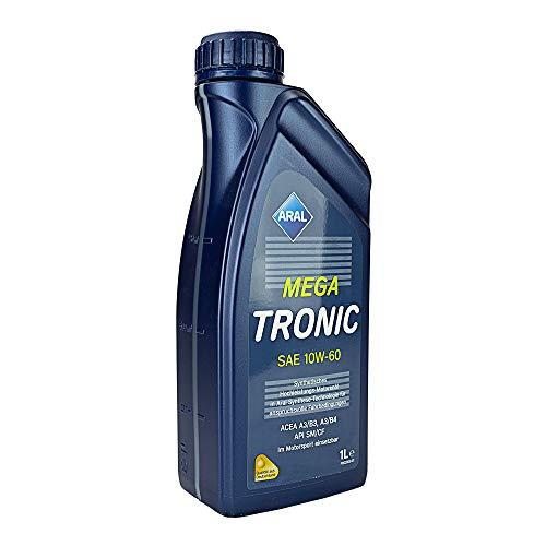 ARAL Mega Tronic 10W-60 - Aceite lubricante para Motor (1 l)