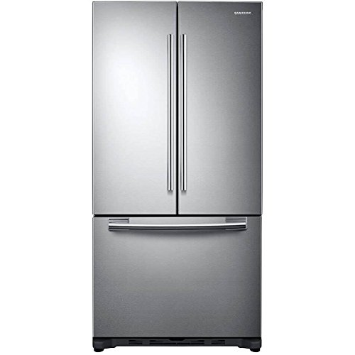 Samsung RF20HFENBSR - Refrigerator/freezer - freestanding - width: 32.2 in - depth: 32.5 in - height: 70.8 in - 19.4 cu. ft - french style - stainless steel