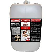 Cleanprince 5 Litros Bidón Anti-milben-spray: Bichos en Cama Spray Antiácaros Anti Ácaro Ácaros Milbenex Milbenentferner Colchones Detergente Limpieza Higiene contra los Chinches Alergia de Medios Del