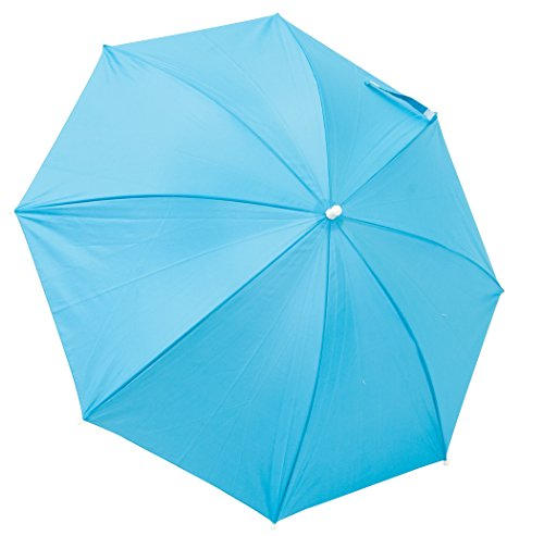 Rio Brands Beach Clamp-On Umbrella - Turquoise, 4'