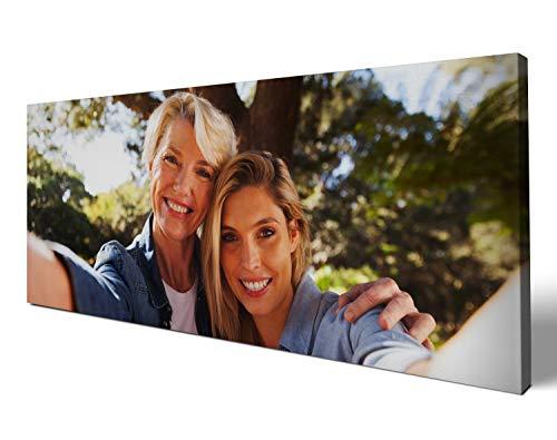 wandmotiv24 eigenes Foto Querformat 120x50cm auf Leinwand drucken Lassen, Ihr Fotodruck selbstgestalten eigenes Motiv, Leinwandbild, Fotogeschenk individuell