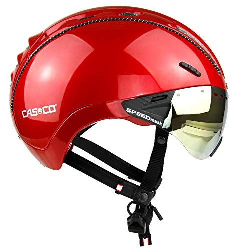 Casco Roadster Plus Visière pour casque de vélo Rouge brillant Taille L 58-60 cm