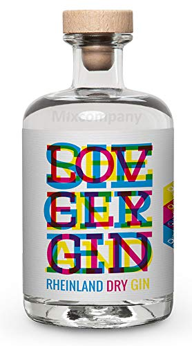 "Siegfried Rheinland Dry Gin 0,5l (41% Vol) Limited Edition ""CMYK"" - [Enthält Sulfite] + Goldberg Intense Ginger 0,15l EINWEG"