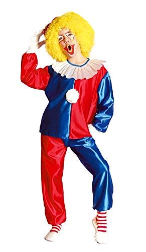 Disfraz - payaso - niño - disfraz - carnaval - halloween - cosplay - talla 152-12 - 14 años - idea de regalo para navidad y cumpleaños
