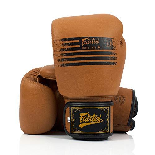 Fairtex BGV21 Legacy Boxhandschuhe braun