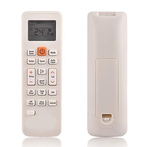 HechoVinen - Telecomando per condizionatore d'aria LCD A/C, perfetto per Samsung DB93-11489L DB63-02827A DB93-11115U DB93-1115K KT3X00