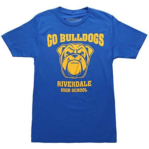 Ripple Junction Riverdale Go Bulldogs Adult T-Shirt - Blue (X-Large)
