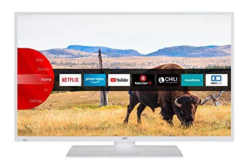 JVC LT-40V55LWA 102 cm / 40 Zoll Fernseher (Smart TV inkl. Prime Video / Netflix / YouTube, Full HD, Bluetooth, Triple-Tuner)