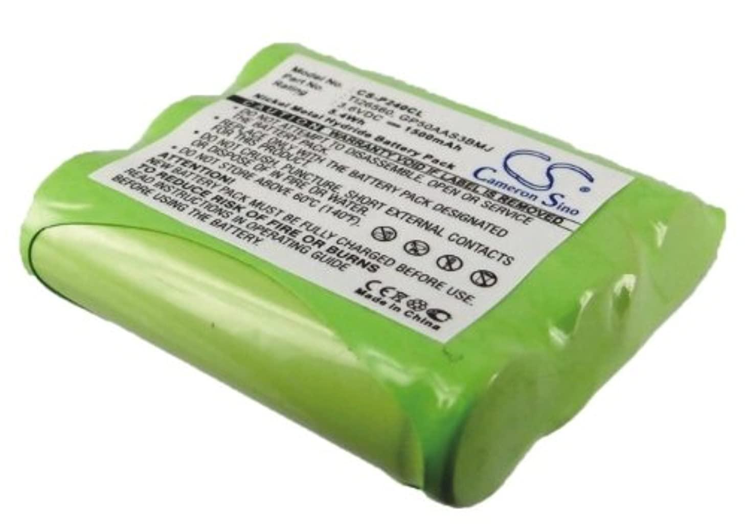 VINTRONS Rechargeable Battery 1500mAh For Radio 2-1091GE3-A, IBM-3150, 2-6938GE1, 2-7982, 9460, 25838GE1, 3301