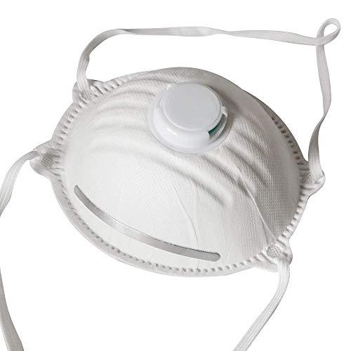 1x Atemschutzmaske FFP2 wirksamer Mundschutz Atemschutz Maske mit Ventil - 3