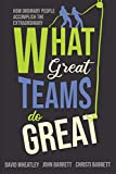 What Great Teams Do Great: How Ordinary People Accomplish the Extraordinary