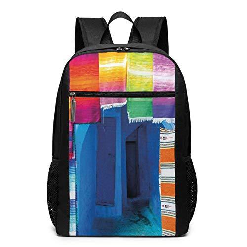 AOOEDM Bolsa para la Escuela Backpack 17 Inch - Mochila para portátil...