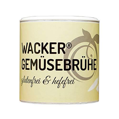 Wacker Gemüsebrühe Bio, 300g. Glutenfrei, laktosefrei & vegan. Ohne Zucker, Hefe & Geschmacksverstärker.