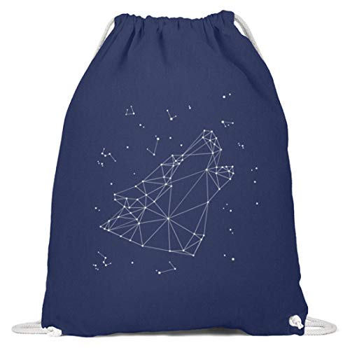 Sternbild Wolf Sternzeichen Turnbeutel | Astrologie Horoskop Cool Gymsac