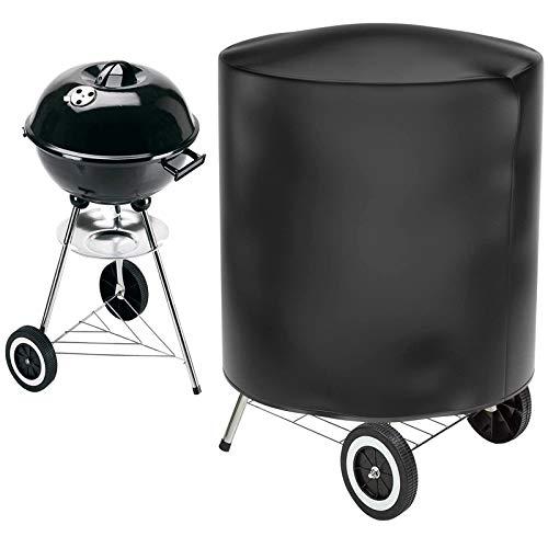 Gifort 70 * 75cm Copertura Barbecue, Impermeabile Telo Protettivo per Barbecue Grill Campana Protezione (Nero)