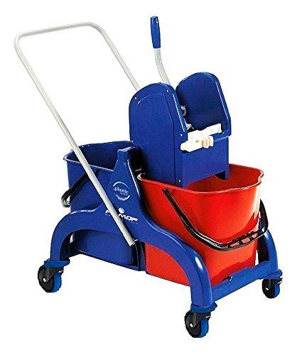 Beige Wheels 125/mm Diameter Plastic 90/Litre filmop 0001/co3090i Polaris Delux Container with Door//Pedal//Handle//Lid