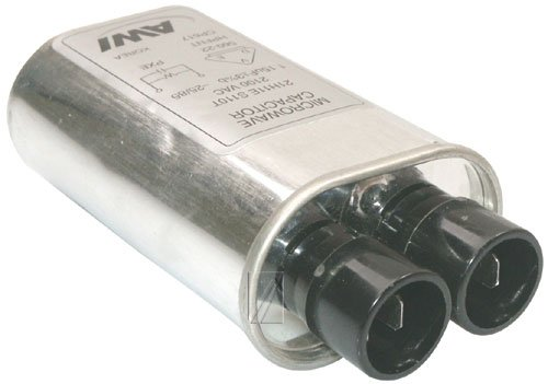 condensateur1,15 µf 2100v 31x52x100mm ±4 pour micro ondes WHIRLPOOL - 481912118299