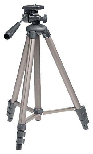 Eurosell 130cm Tripod Kamera Stativ für Nikon Canon Benq Fuji Sony etc. Digitalkamera Video Foto Film Spiegelreflex etc.