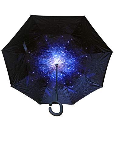 Innovativer Regenschirm, Umgekehrter Regenschirm, Reverse Umbrella, Inverted Umbrella, Sonne, Sonnenschutz, Sonnenschirm, Geschenk (Kosmos)