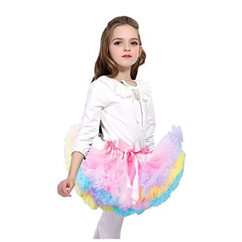 FORESTIME Girl Dress Skirt Newborn Infant Baby Bowknot Tutu Skirt Pettiskirt Ballet Clothes,Kids Holiday Dresses(Pink,0-12 Months)