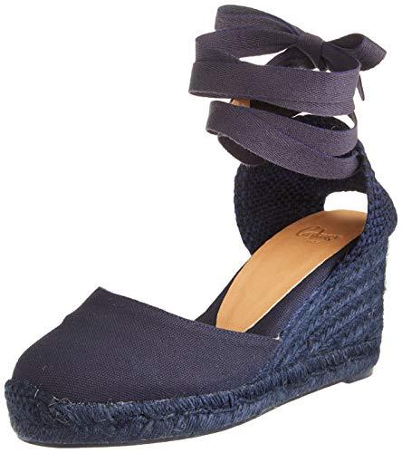 Castañer Carina, Zapatillas para Mujer, Azul Marino, 37 EU