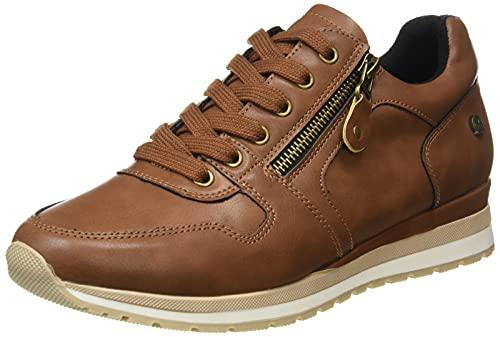 XTI 43313, Zapatillas Mujer, Camel, 37 EU