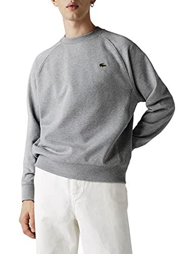 Lacoste L!VE Herren SH9174 Sweatshirt, Muraille Chine, XL