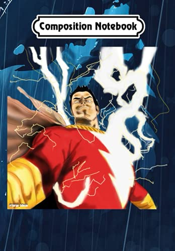 Composition Notebook: Shazam! magi hero, Journal 6 x 9, 100 Page Blank Lined Paperback Journal/Notebook