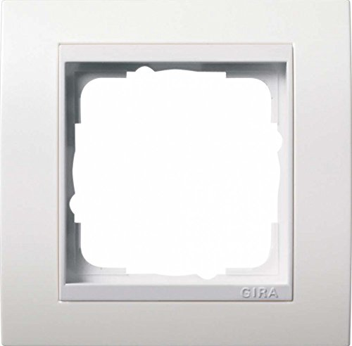 Preisvergleich Produktbild Gira 0211803 Abdeckrahmen 1 fach für Event,  reinweiß