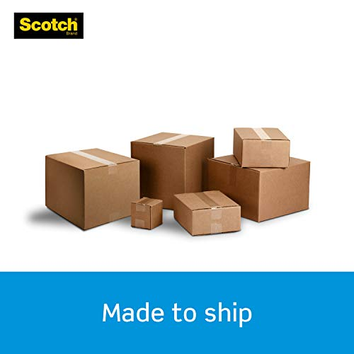 """Scotch Heavy Duty Shipping Packaging Tape, 1.88"""" x 54.6 Yards, 3"""" Core, Clear, Great for Packing, Shipping & Moving, 3 Rolls (3850-3) Photo #4"""