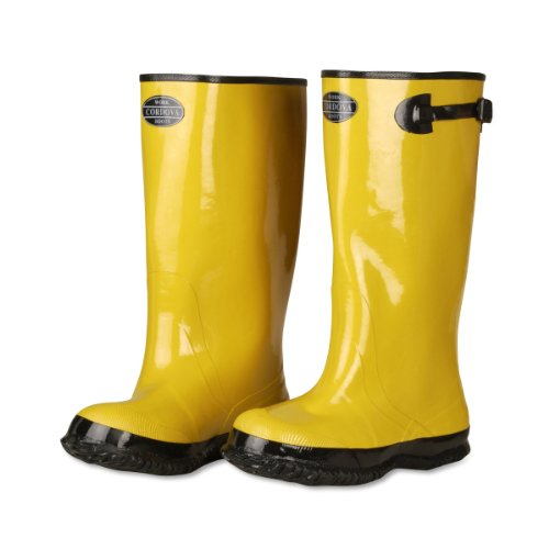 Cordova Safety Products Over-the-Shoe Style Rubber Boots - Slush Boots for Construction, Manufacturing, Food Service, and More - Size 11