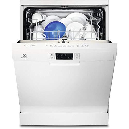 Electrolux ESF5513LOW Autonome 13places A+ lave-vaisselle - Lave-vaisselles (Autonome, Blanc, Taille maximum (60 cm), Blanc, Tactil, LED)