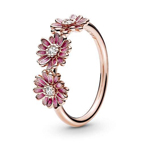 Pandora anillo De las mujeres metal común Esterlina 925 circonita - 188792C01-48