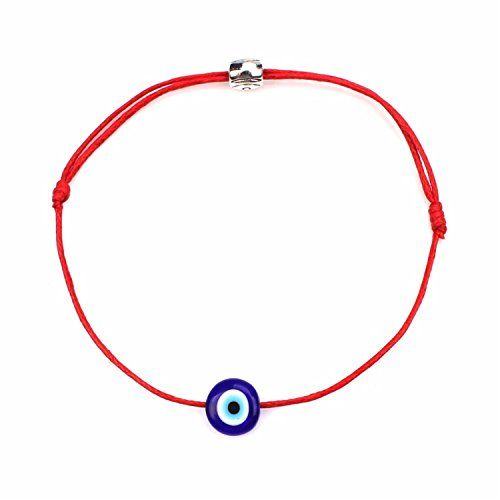 Pulsera Brazalete, Joyeria Regalo, Turkish Lucky Evil Eye Bracelets For Women 6 Colors Handmade Braided Rope Lucky Jewelry Red Bracelet Female 6