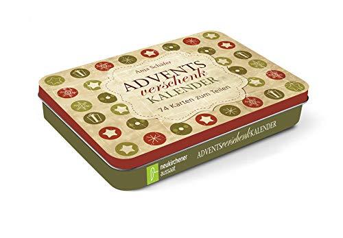 Adventsverschenkkalender: 74 Karten zum Teilen