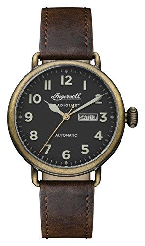 Ingersoll Herren Datum klassisch Automatik Uhr mit Leder Armband I03403