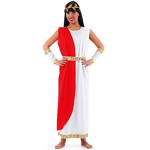 Costume romano Agrippina taglia unica tunica donna