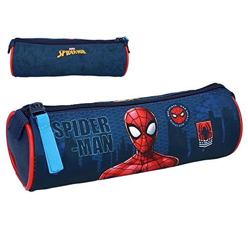 Astuccio Porta Penne Scuola Marvel Avengers Spiderman 20 cm