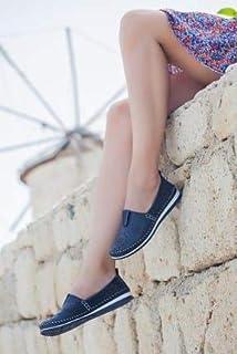 TARÇIN Hakiki Deri Günlük Kadın Babet Ayakkabı TRC78-0065