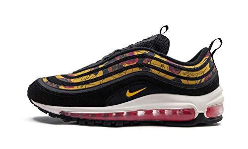 Nike W Air Max 97 Se, Scarpe da Atletica Leggera Donna, Multicolore (Black/University Gold/Sail 1), 36 EU
