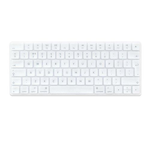 Proelife EU Disposición Funda protectora para teclado de silicona ultra fina suave para teclado Bluetooth inalámbrico Magic MLA22L/A (A1644)