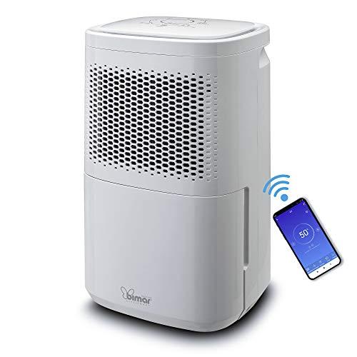 Bimar DEU315 Deumidificatore Wifi, capacità 12litri/24h, Compressore con Gas Refrigerante R290, Controllo Funzioni Tramite App, Compatibile con Alexa, Google Assistant. Portatile e potente.
