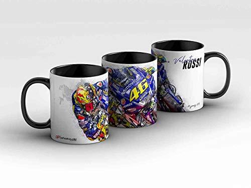 GP-Tasse 85 - Valentino Rossi - Collectors Edition - 20 Jahre schwarz